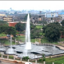 Water fountain at Oba Ovoramwen Square, Benin City