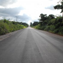 Reconstructed Amendokhian-Ugboha Road