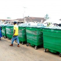 ROAD MAINTENANCE AND WASTE DISPOSAL AT OBA MARKET ROAD