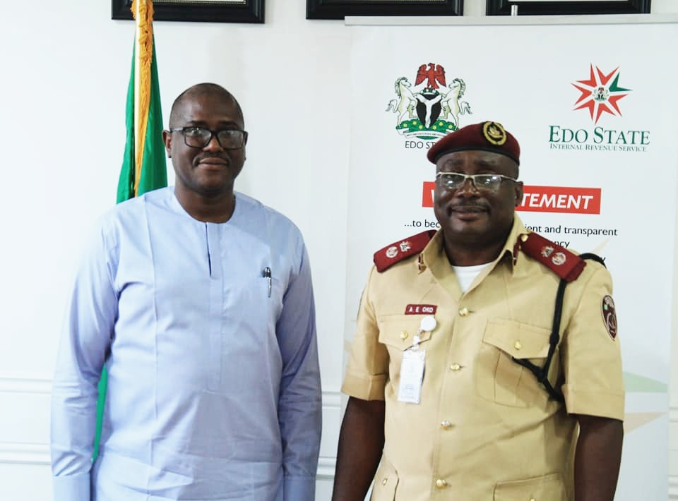 NATIONAL SECURITY: EIRS TO PARTNER FRSC ON NUMBER PLATE/RIDERS LICENCE ENFORCEMENT