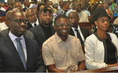 Obaseki extols virtues of late EIRS boss, Iredia