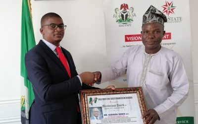 EIRS Revenue Boss Receives Meritorious Award on Quality Leadership