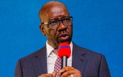 Obaseki Harps On Tax Payment In New Year Address